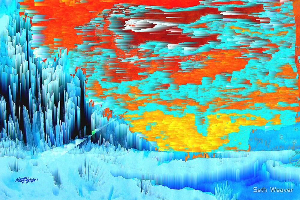 Fiery Skies by Seth  Weaver