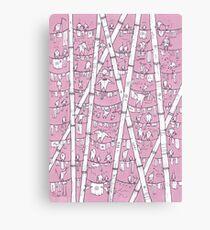 POP Art Pink Washing Canvas Print