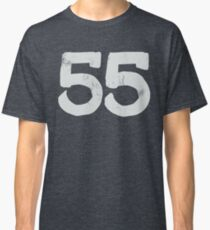 VINTAGE NUMBERS 55 (OFF-WHITE) Classic T-Shirt