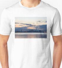 Anticipation - Waiting for the Sunrise at Toronto Waterfront Unisex T-Shirt