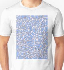 POP Art Blue Unisex T-Shirt
