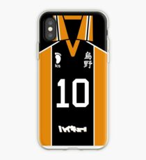HAIKYUU!! SHOYO HINATA JERSEY PHONE CASE KARASUNO ANIME SAMSUNG GALAXY + IPHONE iPhone Case