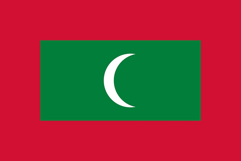 Flag of maldives by countries flags