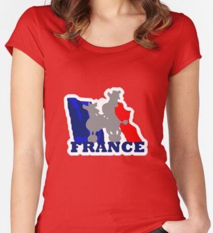 French t-shirts Women's Fitted Scoop T-Shirt