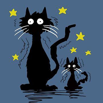 Shaking cats by DarthMonter
