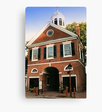 Headhouse Square Canvas Print