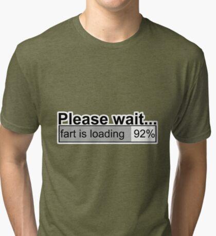 Please wait t-shirts Tri-blend T-Shirt