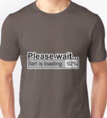 Please wait t-shirts Unisex T-Shirt