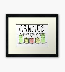 A Gift Idea Framed Print