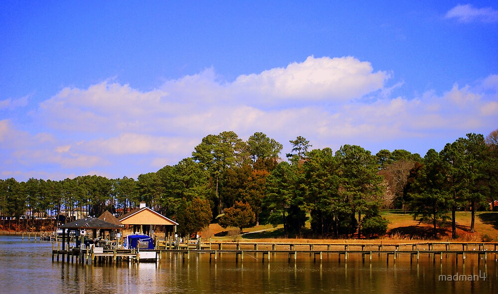 Beautiful Day At The Lake by madman4