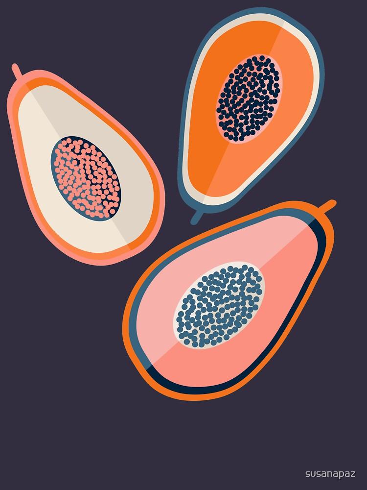 Papayas von susanapaz