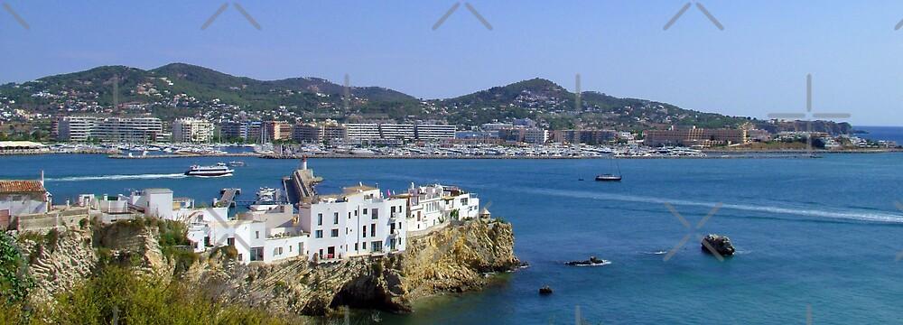 Ibiza Town by Tom Gomez