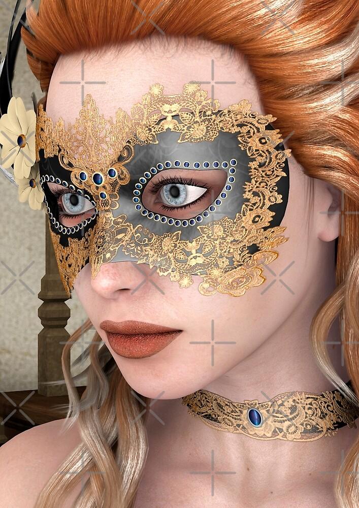 Masquerade Mask by Vac1