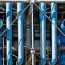 Blue Pipes by cclaude