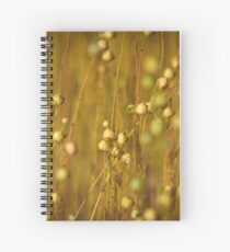 Graines de lin Spiral Notebook