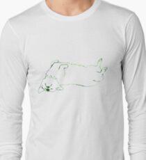 Simplistic Corgi Long Sleeve T-Shirt