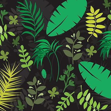 Rainforest Leaves by TheIntrepidSoul