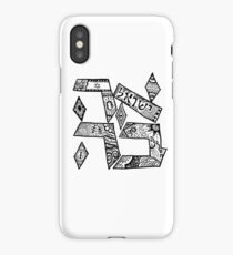 """Ahavah"" - Hebrew Zentangle iPhone Case/Skin"