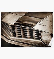 1969 Chevrolet Camaro Z 28 Grille Emblem -1363s Poster