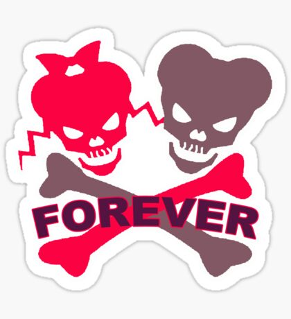 Forever t-shirts Sticker