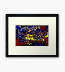 abstract#1 Framed Print