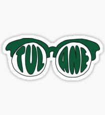 Tulane Sunglasses Sticker