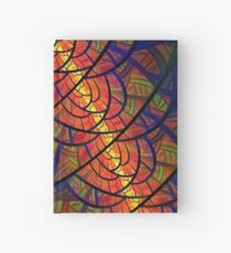 Stained Glass - Fractal Style Hardcover Journal