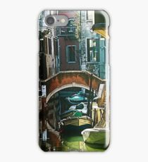 Pictorial Venice - timeless perspective and beautiful lanscape iPhone Case/Skin