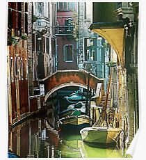 Pictorial Venice - timeless perspective and beautiful lanscape Poster