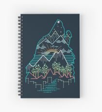 Nature is Calling Spiral Notebook