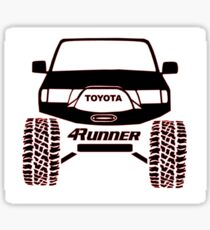 3rd Gen Toyota 4Runner Sticker