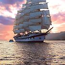 Twilight sail! by Nancy Richard