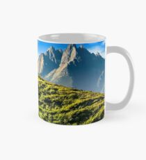 rocky hills in mountains Mug