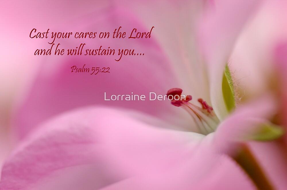 He Cares by Lorraine Deroon