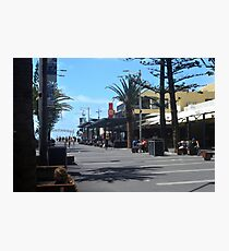 Coffee at Surfers Paradise - Queensland Photographic Print