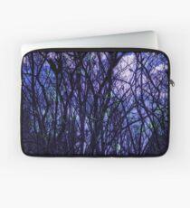 Dark Purple Forest Laptop Sleeve