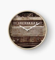 Old Vintage Radio Clock