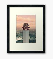 Collage Art Framed Print