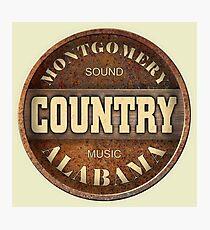 Montgomery Sound Bluegrass Music Alabama Photographic Print