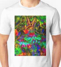 Finding Food original ink art by Sherry Salant T-Shirt