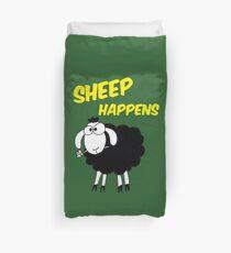 Sheep Happens Duvet Cover