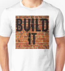 Build It  the Wall T-Shirt Political Statement Unisex T-Shirt