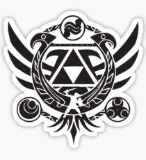 Zelda Themed Design - Hyrule & Legend of Zelda – Videogame Gift for Nintendo Lover Sticker