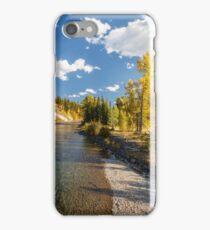 North Fork Flathead River iPhone Case/Skin