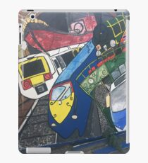 Trains paintings  iPad Case/Skin