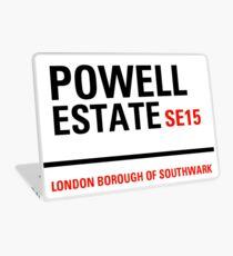Powell Estate sign Laptop Skin