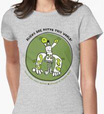 Alien-Alien Robot Animal Planet Comic Monster Design T-Shirt