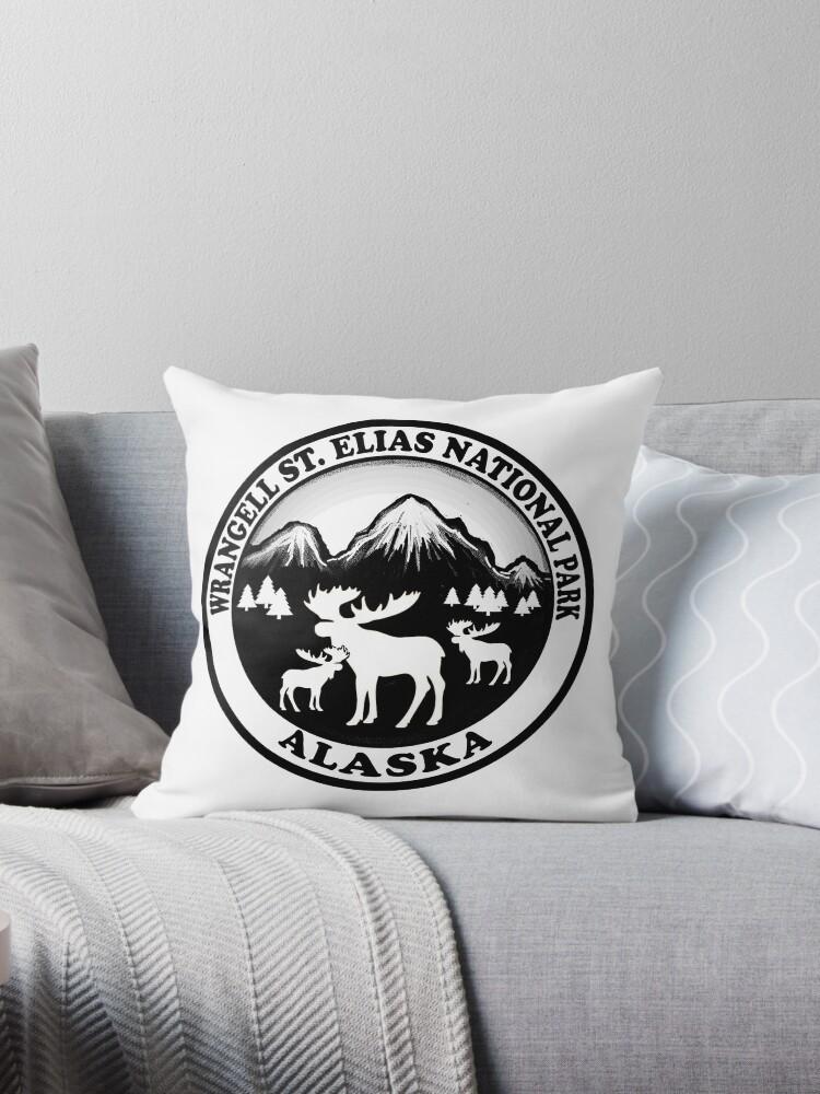 Wrangell St. Elias National Park Alaska moose design by artisticattitud
