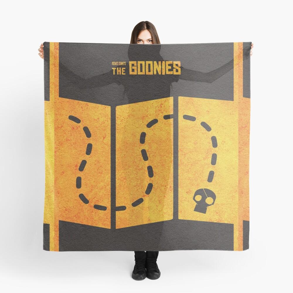 Das minimalistische alternative Filmplakat Goonies Tuch