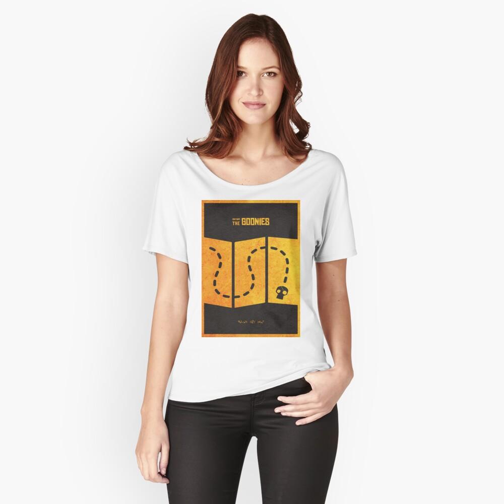 Das minimalistische alternative Filmplakat Goonies Loose Fit T-Shirt